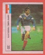 Yugoslavia Safet Susic Paris St Germain 30